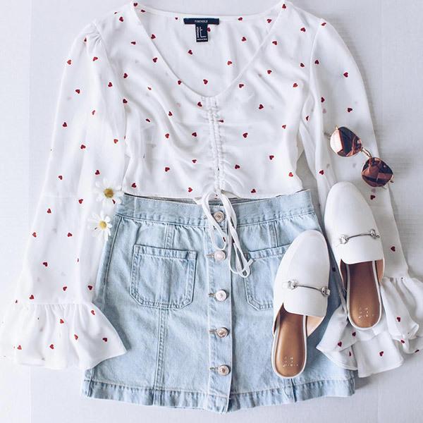 Cute Summer Polka Dot Outfits