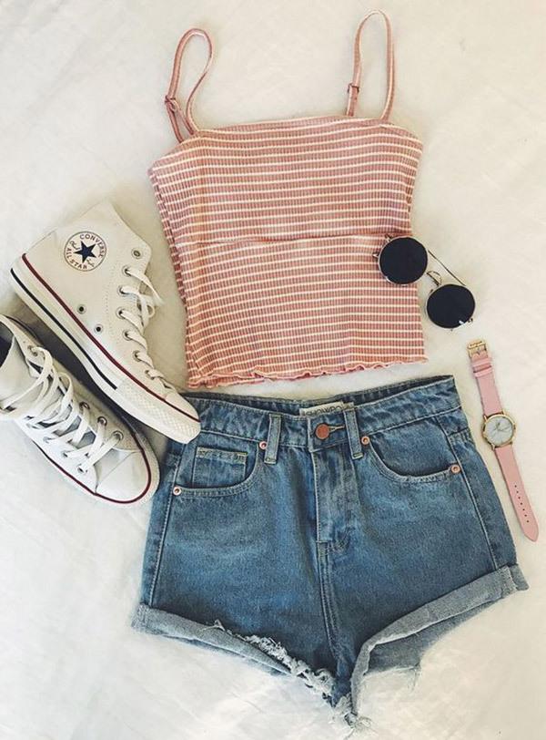 Cute Summer School Outfits