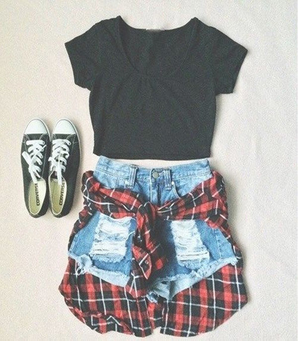 Cute Summer Teenage Outfits