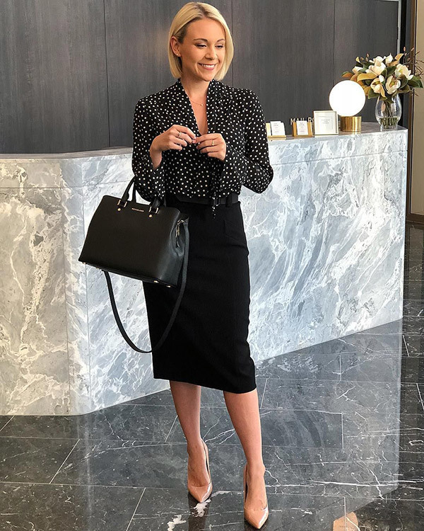 Elegant Corporate Outfits for Ladies