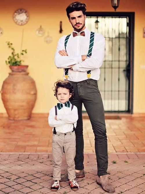 Father Baby Boy Matching Outfits