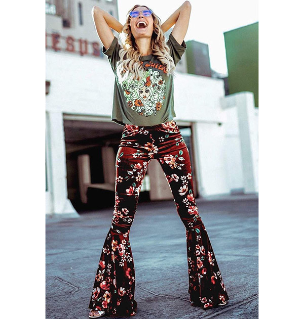 Flare Pants Outfits for Girls