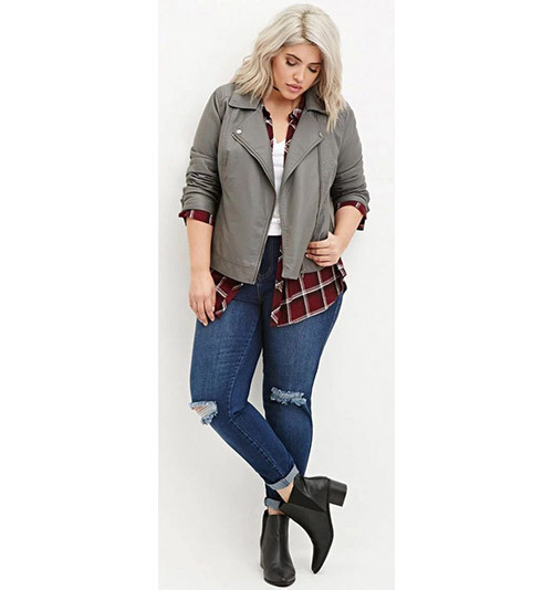 Latest Plus Size Fall Outfits