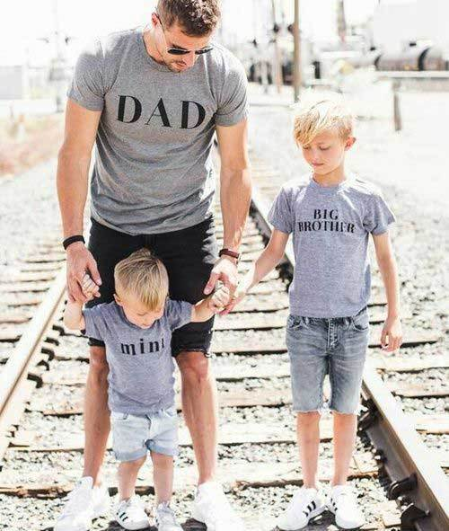Father Son Matching Clothes