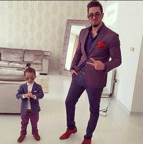 Father Son Matching Swag Outfits