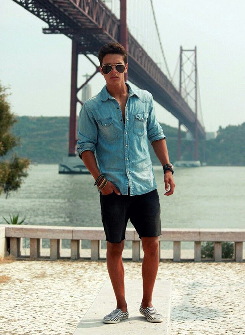 Mens Casual Summer Jean Outfits