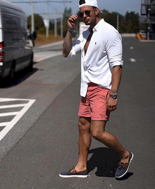 Mens Casual Summer Street Outfits