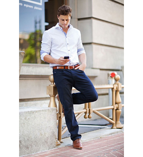 Plain Business Casual Outfits Men