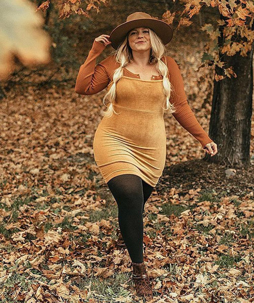 Plus Size Autumn Outfits
