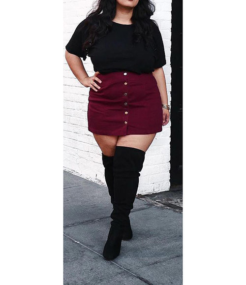 Plus Size Fall Vacation Outfits