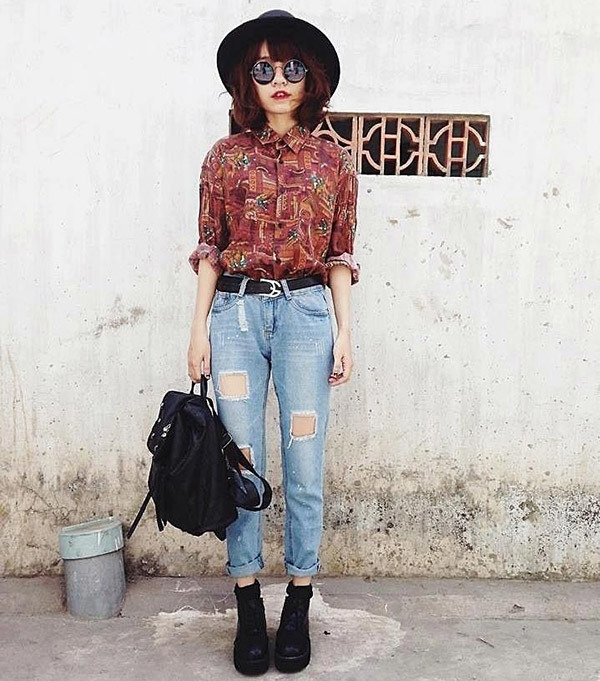 Retro Outfits for Girls