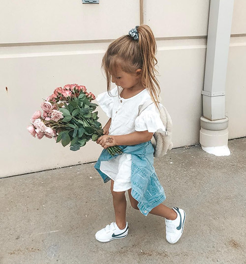 Simple Little Girl Outfits