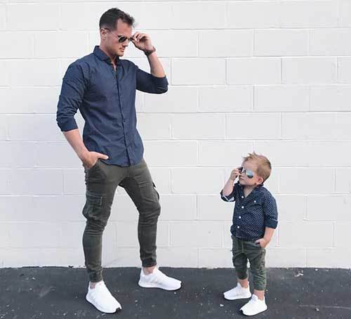 Son and Dad Outfits