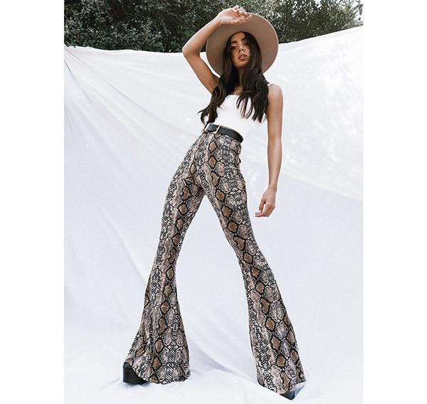 Stylish Flare Pants Outfits