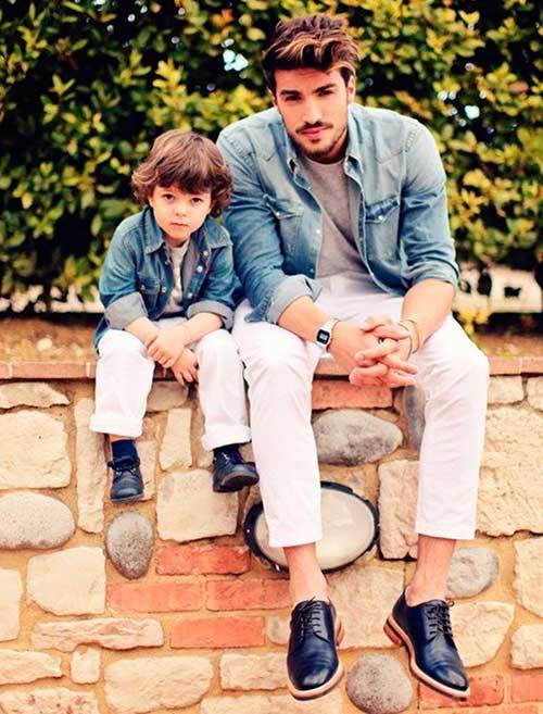Stylish Father Son Matching Outfits
