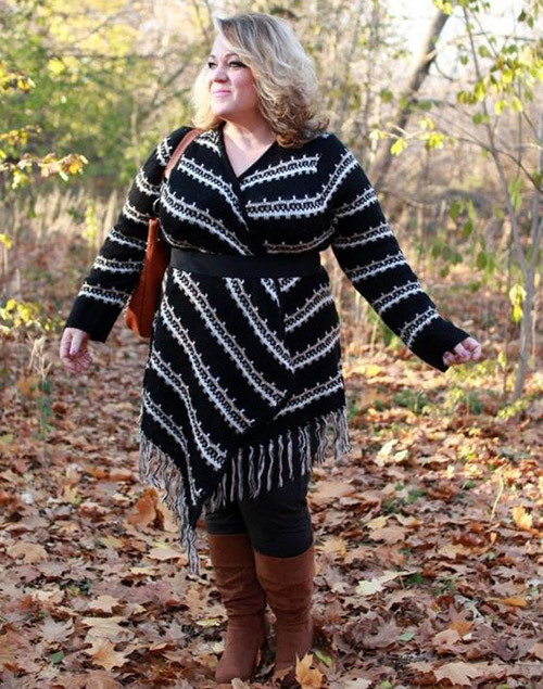 Stylish Plus Size Fall Outfits