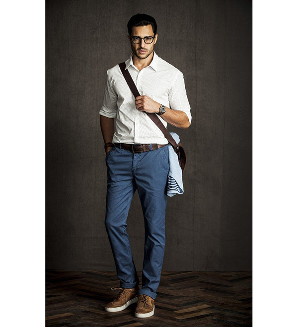 White Business Casual Outfits Men