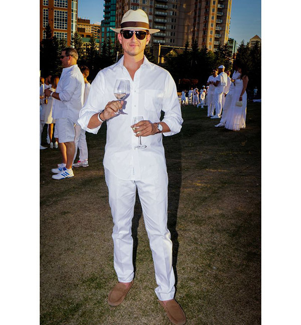 All White Party Outfits for Men
