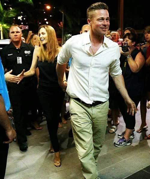 Brad Pitt Fashion Style