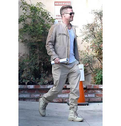 Brad Pitt Fashion