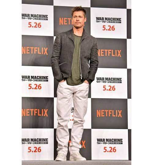Brad Pitt Outfits