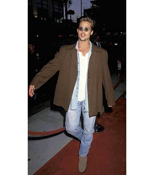 Brad Pitt 90s Outfits