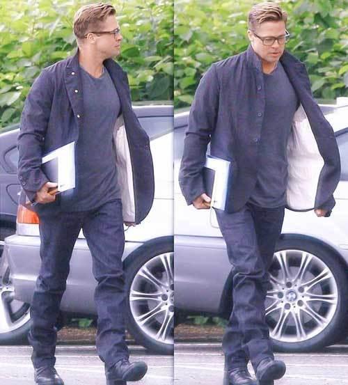 Brad Pitt Outfits-21