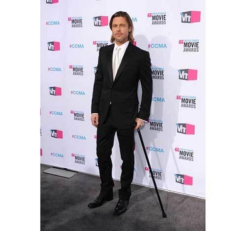 Brad Pitt Tuxedo Outfits