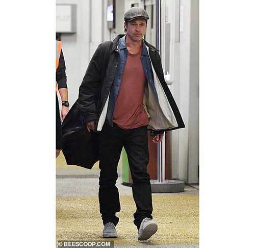 Latest Brad Pitt Outfits