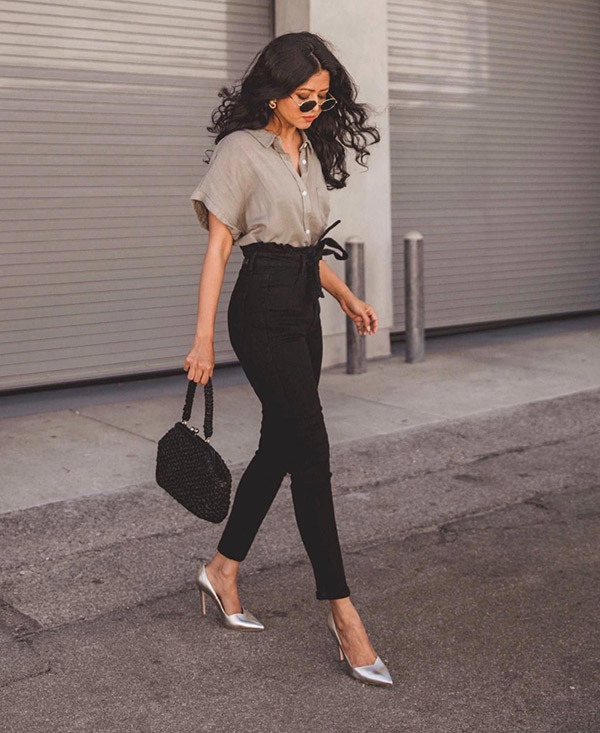 High Waisted Business Outfits