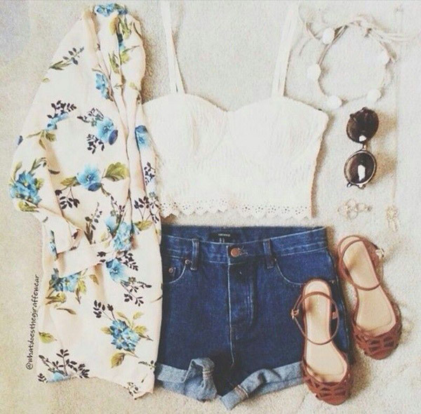 Boho Style Summer Outfits