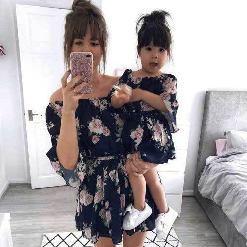 Matching Family Boho Outfits