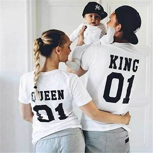 Matching Family Tshirt Outfits