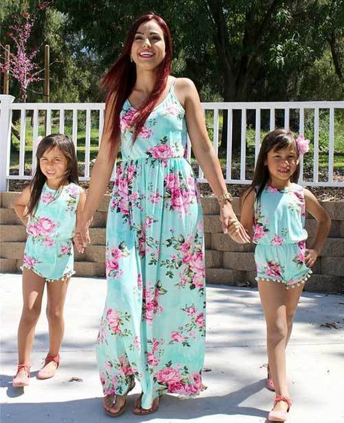 Matching Family Floral Outfits