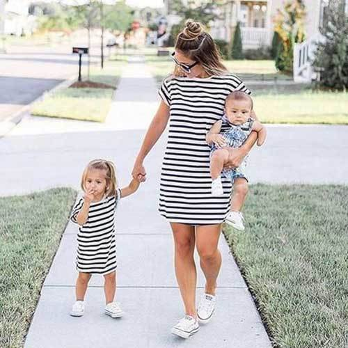 Stylish Matching Family Outfits