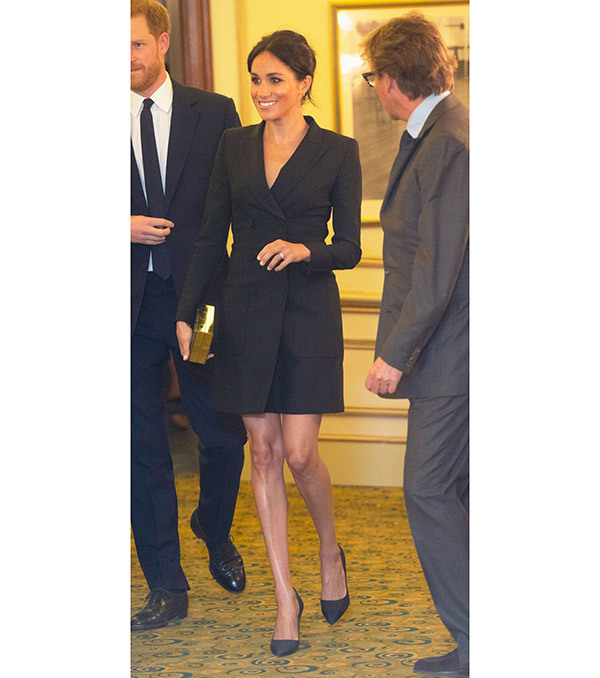 Meghan Markle Blazer Dress Outfits