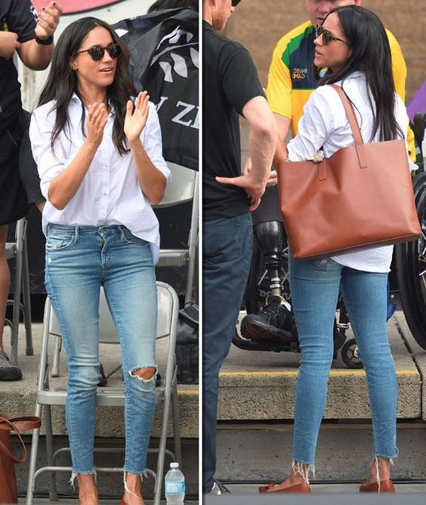 Meghan Markle Denim Outfits