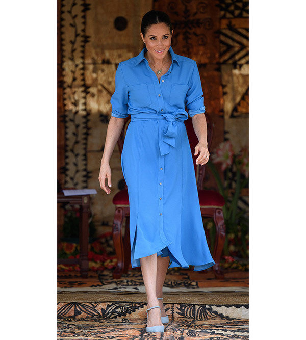 Meghan Markle Pregnancy Outfits
