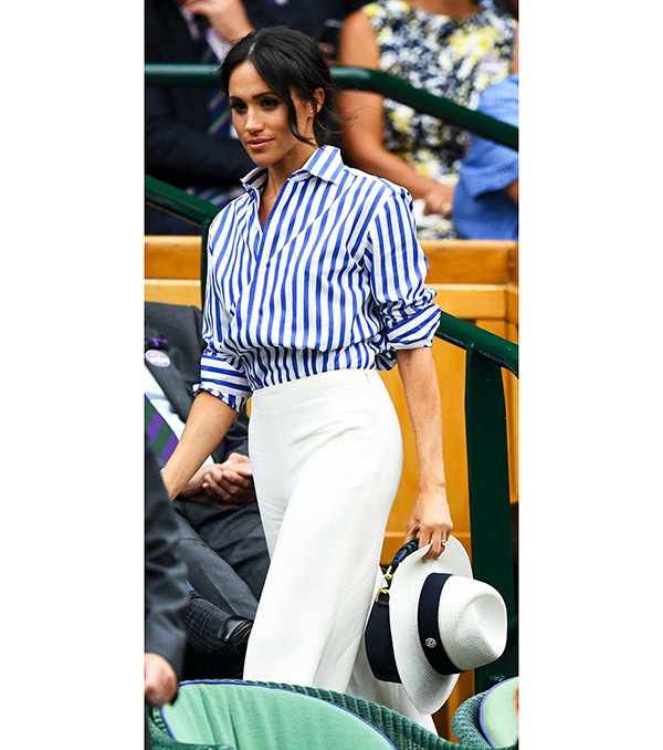 Meghan Markle White Outfits