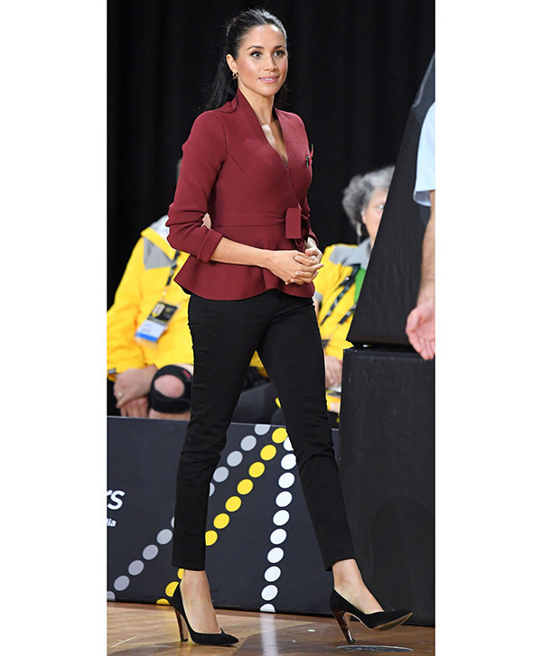 Meghan Markle Office Outfits