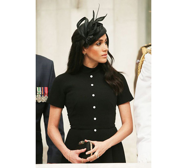 Meghan Markle Fancy Hat