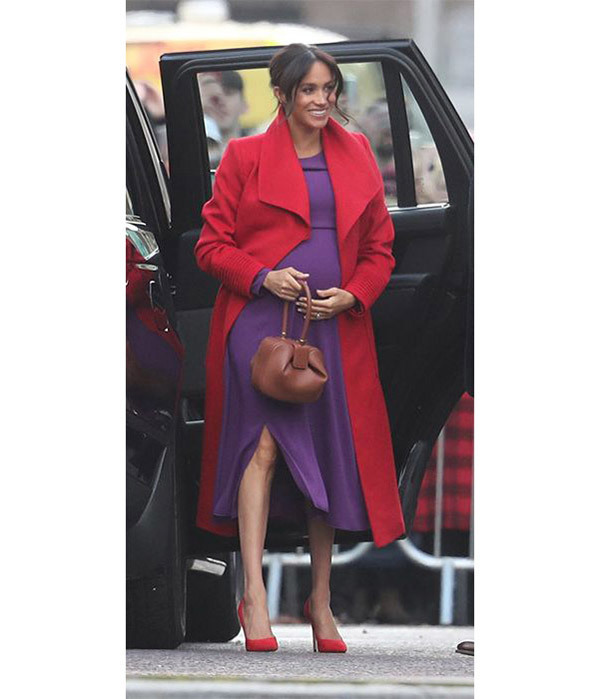 Meghan Markle Red Coat Outfits