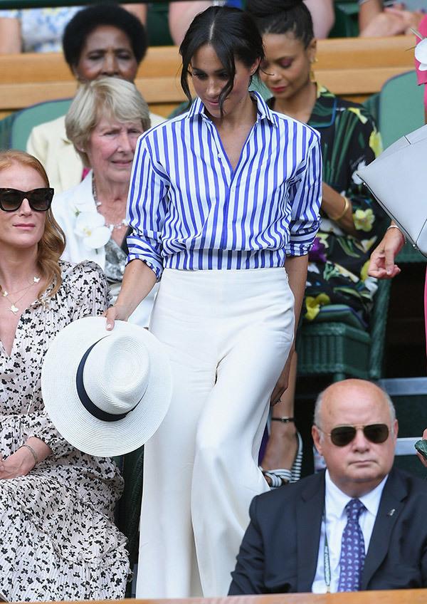 Meghan Markle Wimbledon Outfits