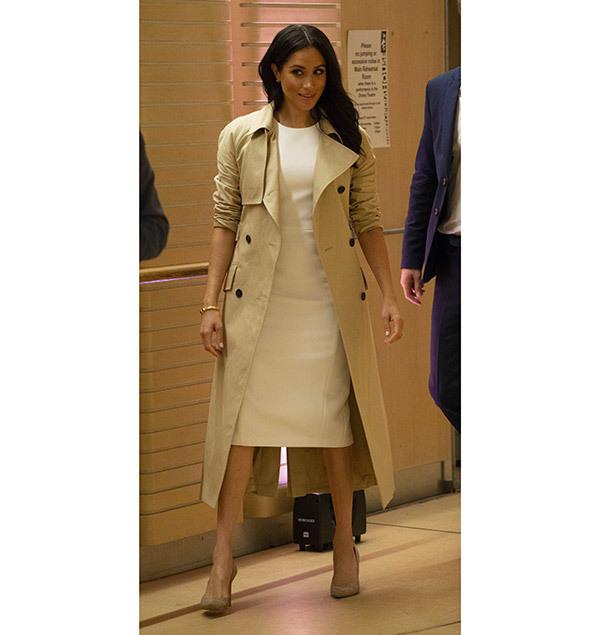 Meghan Markle Gabardine Outfits
