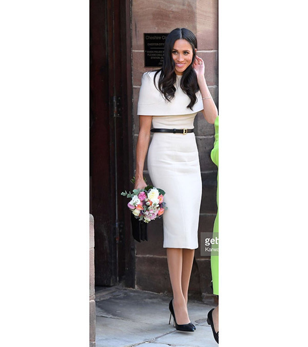 Meghan Markle Pencil Skirt Outfits