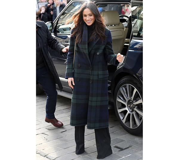 Meghan Markle Winter Outfits