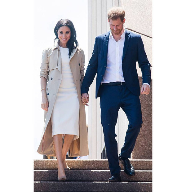 Meghan Markle and Prince Harry Outfits