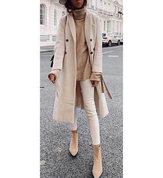 Beige Fall Outfit Ideas