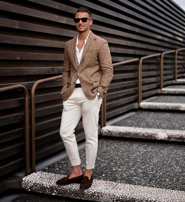 White Party Outfits for Men