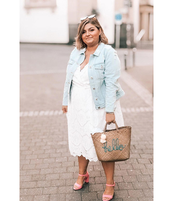 Plus Size Summer Denim Outfits